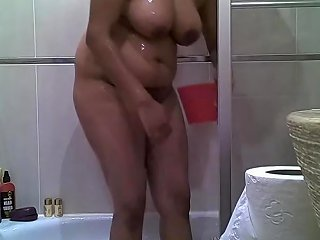 3 Srilankan Tamil Indian Teenager Taking Her Shower