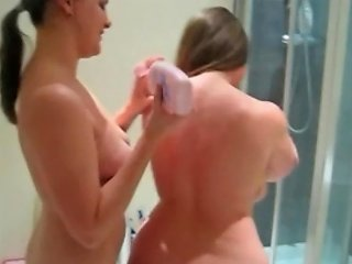 British Curvy Babes Lotion Up Their Curves Free Porn A8