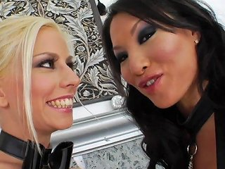 Two Lesbian Porn Star With A Huge Strap On