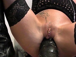 Enormous German MILF Gets Anal Insertions Any Porn