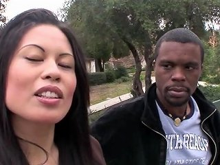 Sasha Meets Big Mann On Campus And He Gapes Her Porn 45